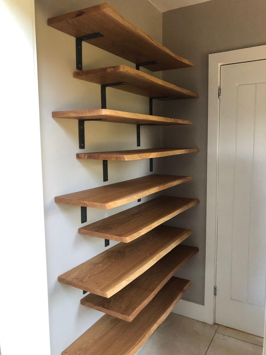 Oak Shelves Kiln Dried Shelving Cut To Order Custom Sizes