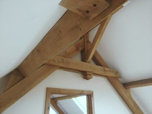 Green Oak Beams Building Structure