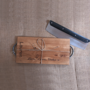 Personalised Engraved Chopping Board with Handles