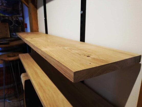 Planed Only Oak Shelves