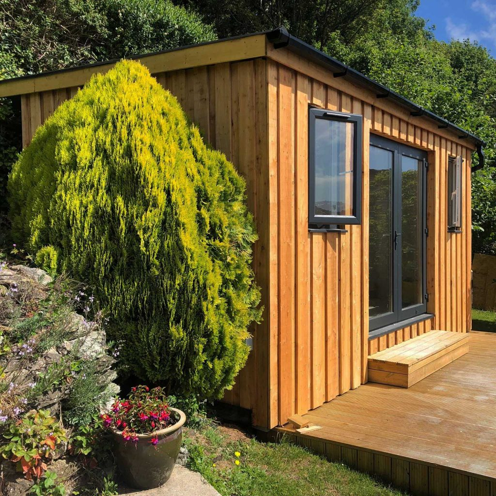 Larch Garden Shed Cladding Pembrokeshire