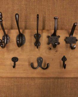 Cast Iron Coast Hooks