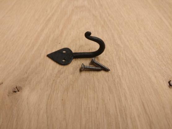 Spade Style Coat Hook