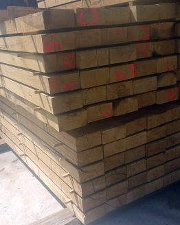 New 8 x 4 Hardwood Oak Railway Sleepers