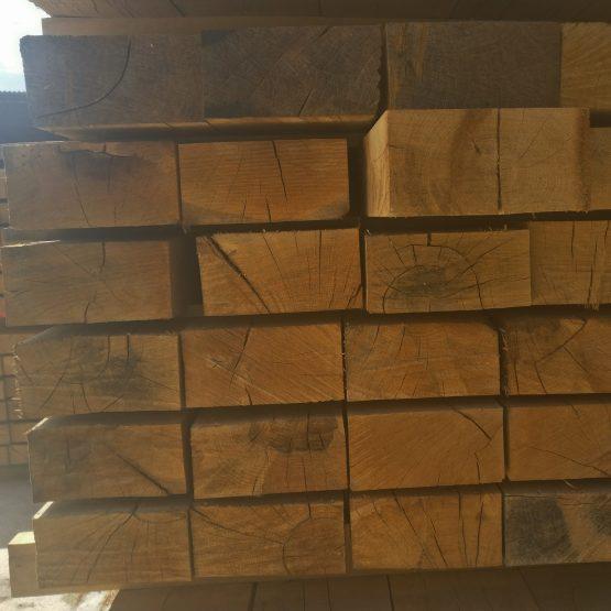 New 8 x 4 Hardwood Oak Railway Sleepers
