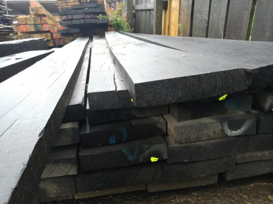 "Solid Oak Railway Sleepers 10"" x 2"""