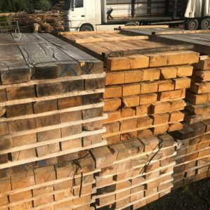 New Oak Hardwood Railway Sleepers