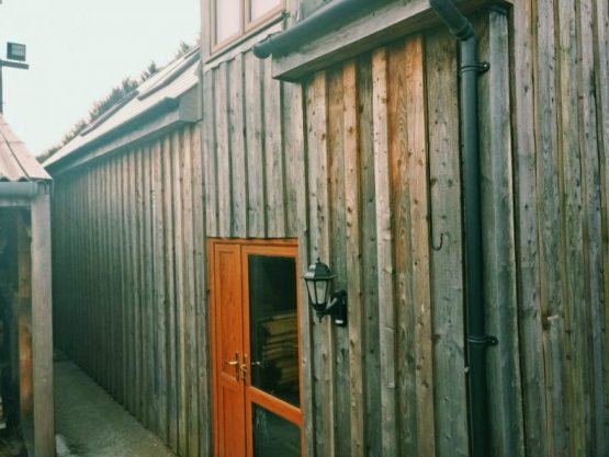 Larch Softwood Exterior Wall Cladding