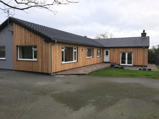 Larch Exterior Softwood Timber Cladding