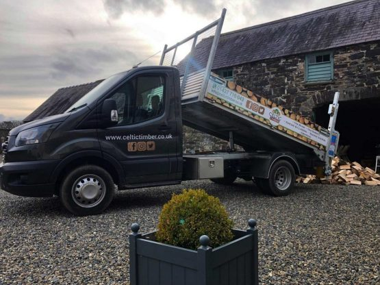 Celtic Timber Pembrokeshire Firewood Logs Delivery Van