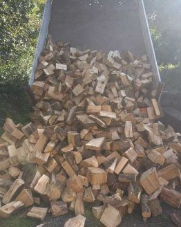 Full Tipper Load of Kiln Dried Harwood Firewood Logs in Pembrokeshire