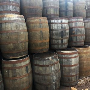 40 Gallon Used Oak Whiskey Barrels For Sale