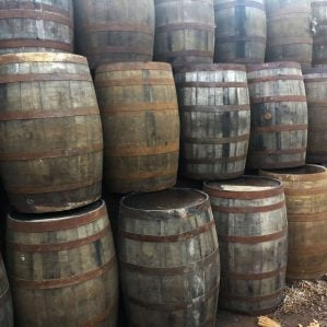 40 Gallon Used Oak Whiskey Barrels For Sale