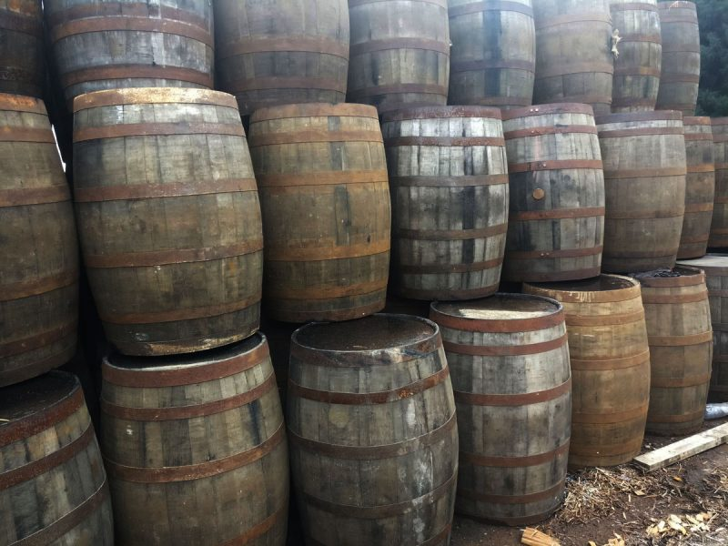 Scotch Oak Whisky Barrels Different Sizes And Uses Great Condition