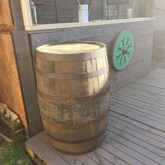 Oak Whiskey Bar Decoration Barrel