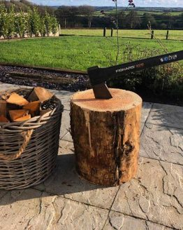 Softwood Firewood Chopping Block