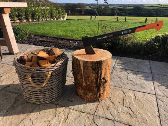 Softwood Firewood Chopping Block