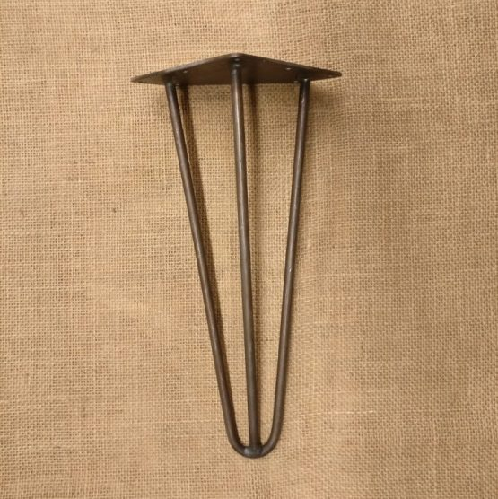 12 Inch Three Pronged Cast Iron Table Legs