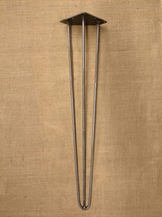 30 Inch Twenty Inch Three Pronged Cast Iron Table Legs