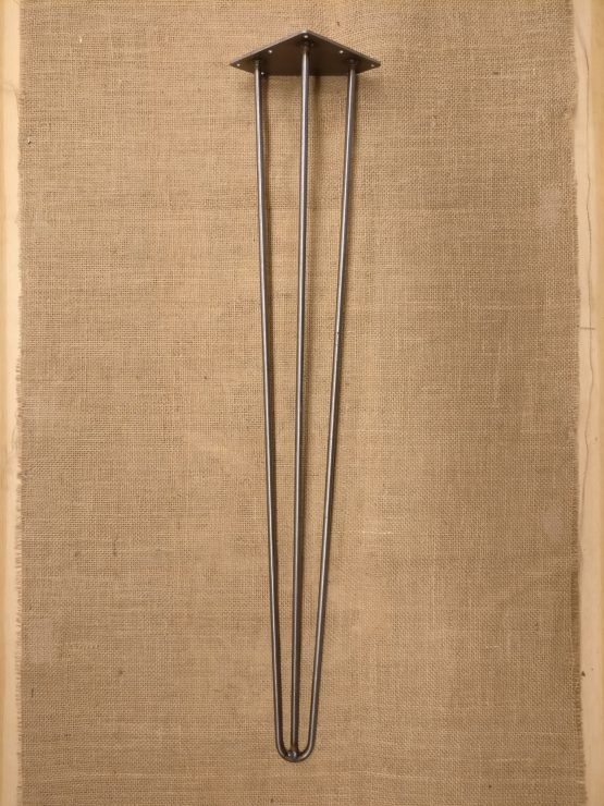 Large Three Pronged Cast Iron Table Legs