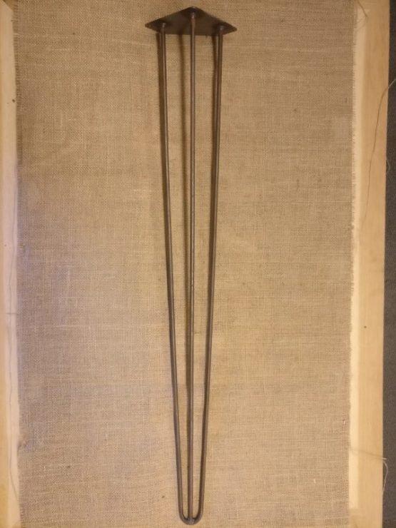 Three Pronged Cast Iron Table Legs Legs