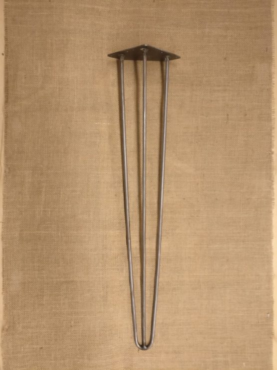 36 Inch Long Three Pronged Cast Iron Table Legs
