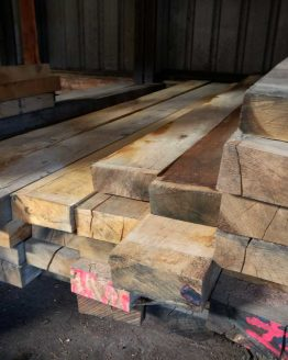 Sawn Only Air Dried Oak Beams