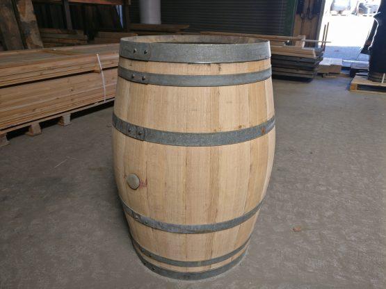 Refurbished Oak Wine Barrels - Sanded Back to Blonde Oak Colour