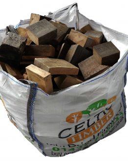 Oak Beam Offcut Firewood From Pembrokeshire Builders Bag