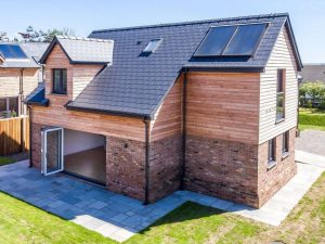 Larch Softwood Timber Cladding