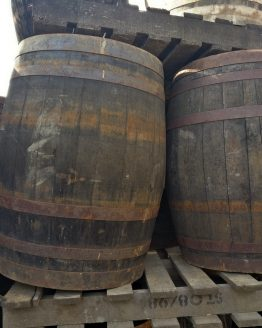 Reduced Whiskey Barrels Missing Bands