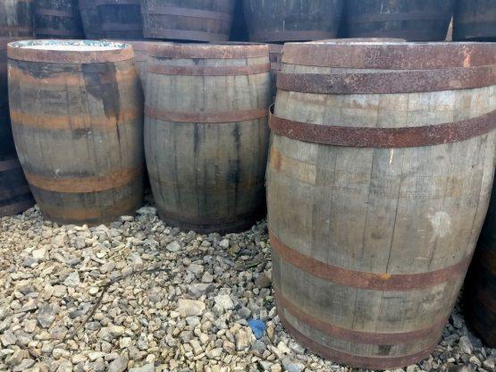Damaged Clearance Whiskey Barrels