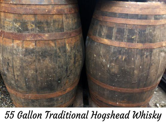 Genuine 55 Gallon Whisky Barrel Water Butt Rain Collector