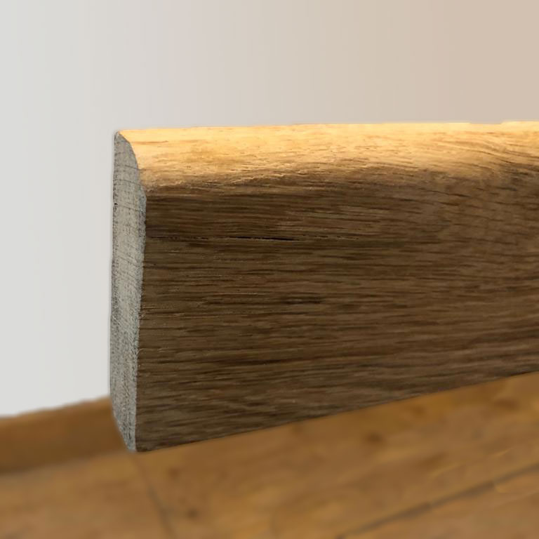 Bull Nose 3 Inch Solid Oak Architrave Boards