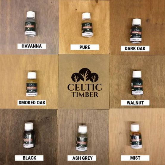 Coloured Protective Oak Oils