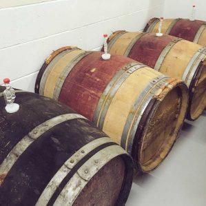Wine Barrels for Brewering