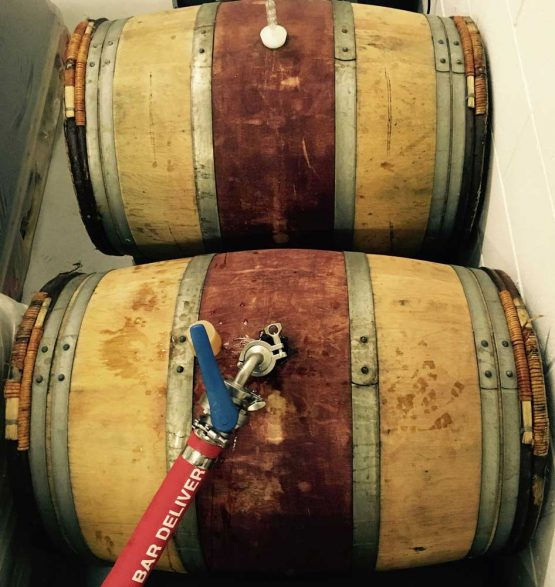 Red Wine Barrel for Brewering and Souring Beer