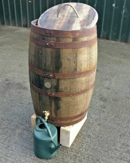 Genuine Scotch Whisky Barrel Water Butt Rain Collector
