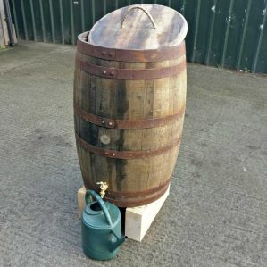 Genuine Scotch Whisky Barrel Water Butt Rain Collector