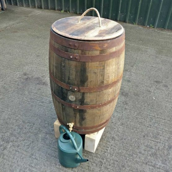 Genuine Whisky Barrel Water Butt Rain Collector
