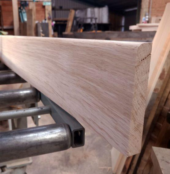 Bull Nose Rounded Edge Oak Skirting Boards