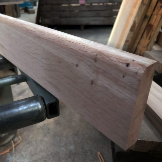 Bull Nose Rounded Edge Oak Skirting Boards