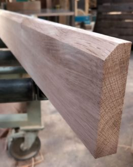 Chamfered Edge Oak Skirting Boards