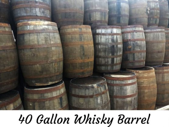 Watertight Whiskey Barrels for re-use and Beer Brewering