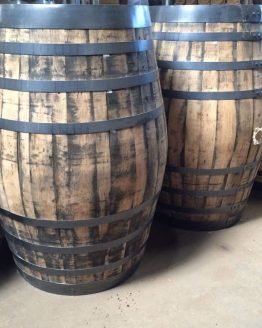 Large Refurbished Oak Whiskey Barrels for Brewering and Re-Use