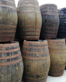 120 Gallon Large Oak Whiskey Barrels Butts