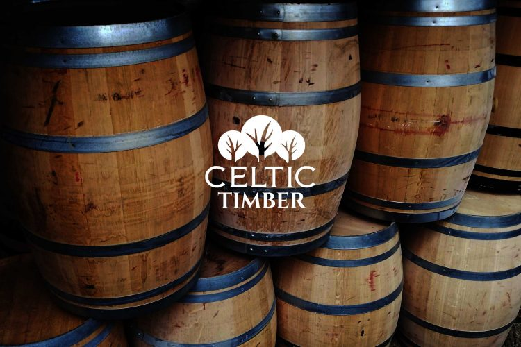 Celtic Timber Wine BArrel Whiskey Barrel Oak Beams and Oak Shelves