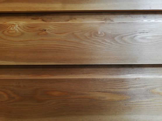 Siberian Larch Cladding Boards with Tongue and Groove Shiplap profiles