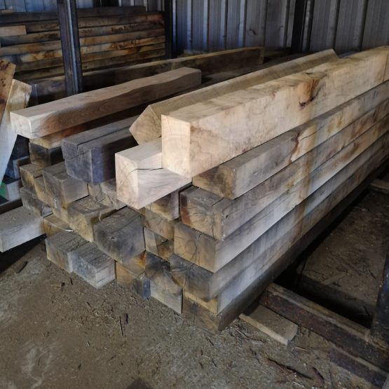 Sawn Only Oak Beams for Trade