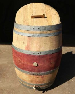 Oak Wine Barrel Ice Bath